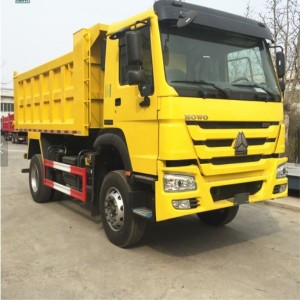 China famous brand Sinotruk howo 4*2 mini dump truck for sale