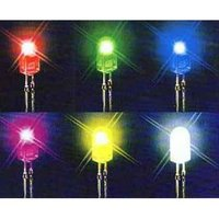 3-5mm super bright single color led with RoHS