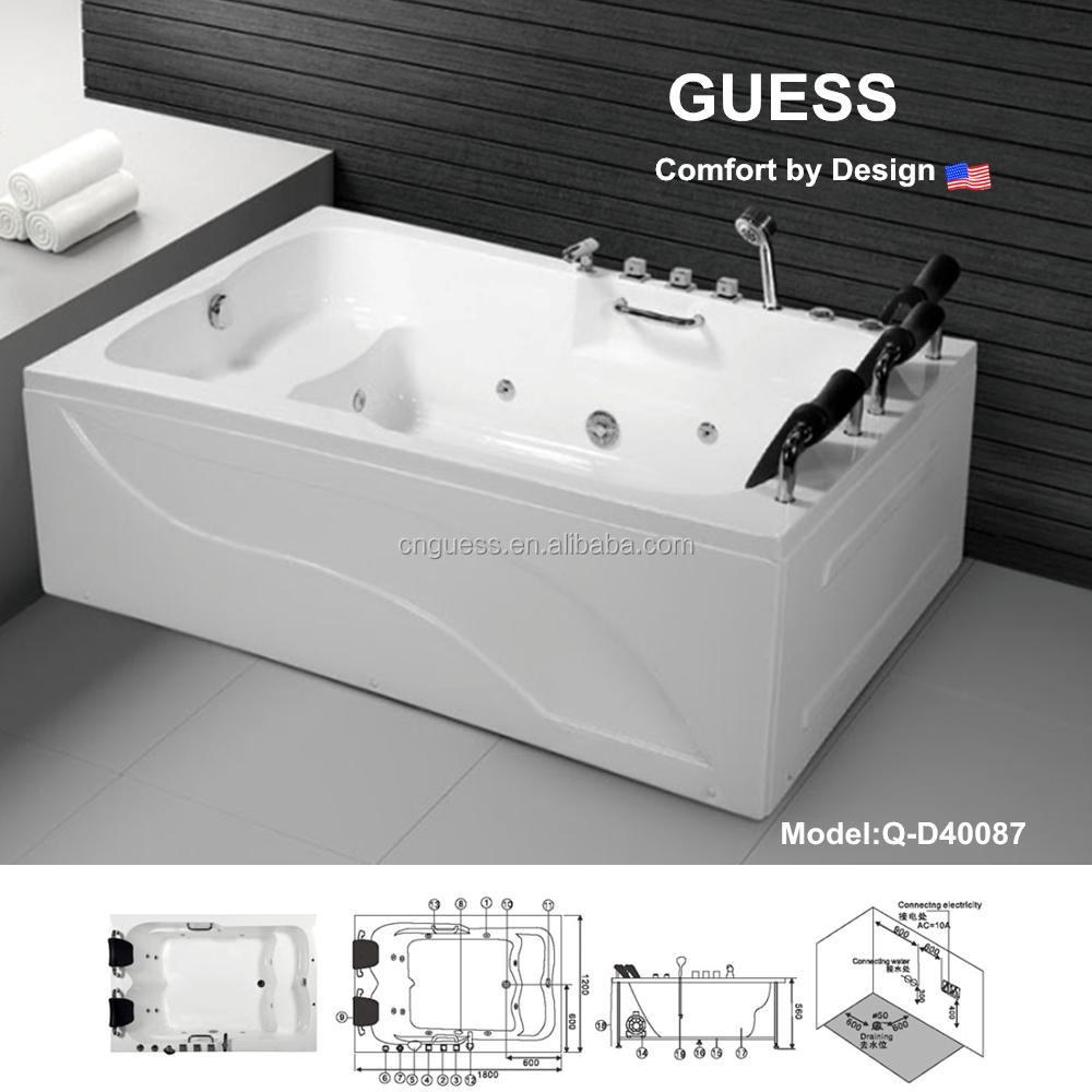 Massage Bathtubs/bathtub/air Bubble Bathtub Q-d40087 - Buy Bathtub ...