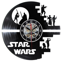 creative wall clock vinyl record clock