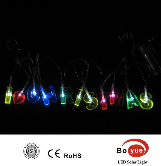 Battery Operated Led Letter Light Led Battery Fairy Light