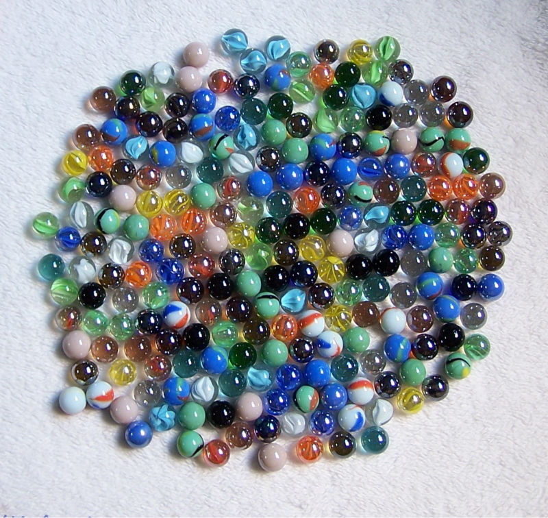 Clear Colored Marbles : Glass marble ball toy buy colored