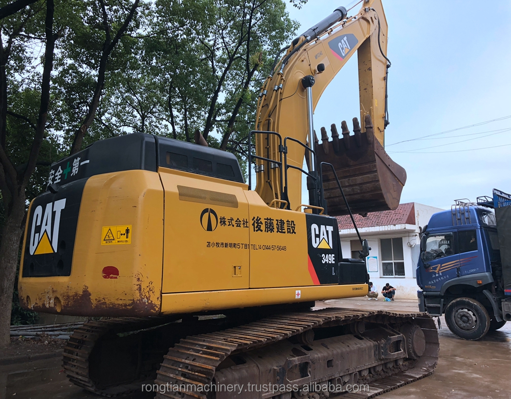 International Certificated Cat Used Excavator 349 At Low Price,All Series  Cat Hydraulic Digger For Hot Sale - Buy Used Cat 349 Excavator,Caterpillar
