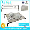 pets supplies private label outdoor elevated dog bed camping cot dog bed outdoor