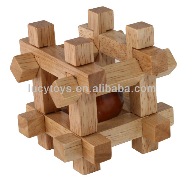 Wooden Ball In Cube Puzzle Box Buy Puzzle Box3d Puzzle Ballhollow Wooden Balls Product On Alibabacom