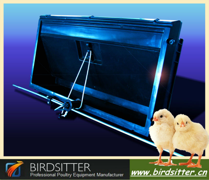 long use life ventilation system air inlets for poultry houses