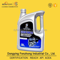high quality SG 15W/30 motor oil for car engine oil with REACH certification