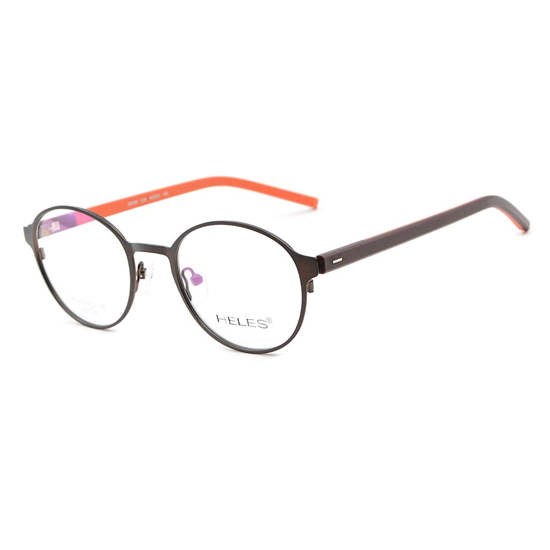 89c2465bb67 Get Quotations · Eyeglasses Frame Mens Optical Eyewear Titanium alloy   TR  Oval Full Rim 50-21-