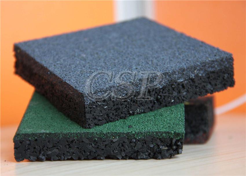 Anti Slip Rubber Restaurant Kitchen Floor Tiles Fitness