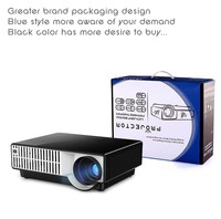 Cheap Price Professional 2800 Lumens Projector Excellent Home Education and Entertainment Projector