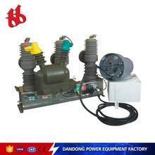 ZW32-12F/T630-25 12kv 50Hz automatic circuit breaker with disconnector auto recloser