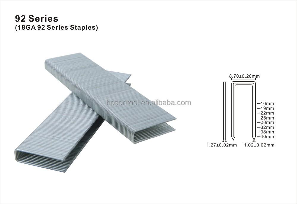 92 Series Stainless Steel Wire Industrial Staple - Buy Stapler Pin ...