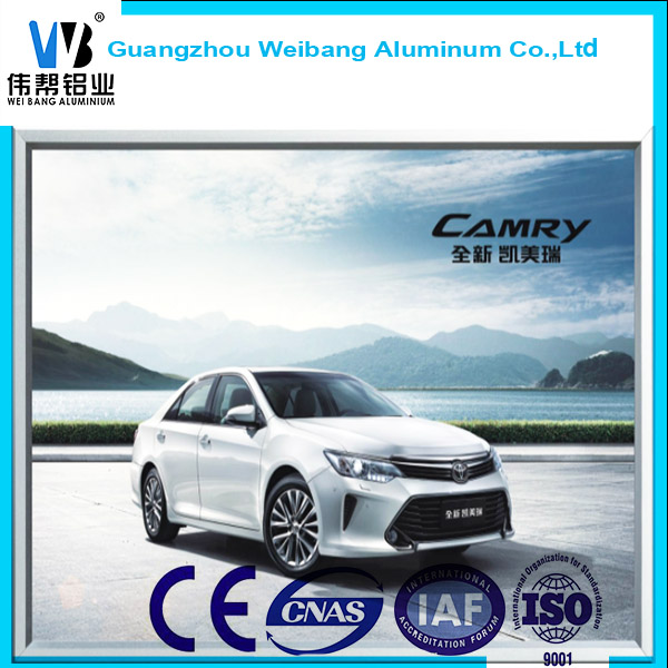 High Quality Advertising Aluminum Snap Light Frame Lightbox