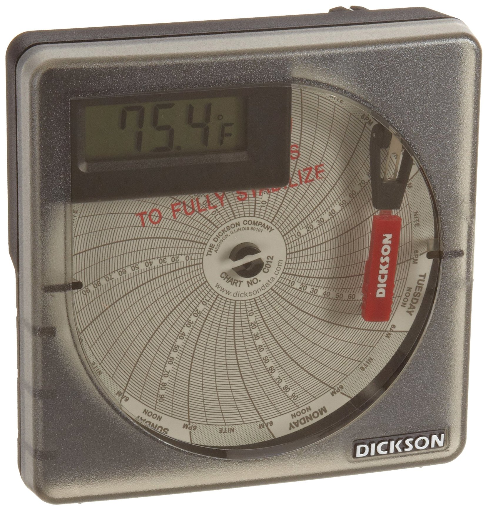 Oakton WD-08368-31 Chart Paper for Three Speed Hygrothermograph 0 Degree C 1 Day Rotation