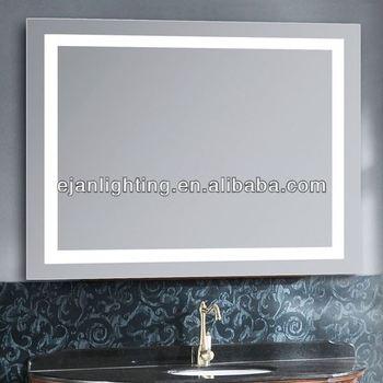 Free Standing Illuminated Mirror Bathroom Cabinet
