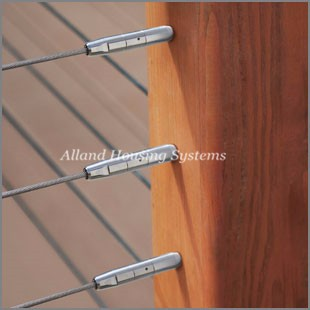 Diy acero inoxidable tensor de cable barandilla del porche for Tensor cable acero
