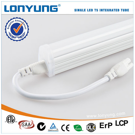 4ft 8ft 25w 40w lighting led t5 with fluorescent light brackets