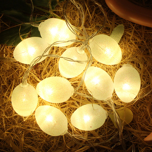 hot selling holiday indoor Decoration usb or battery powered easter egg shaped led string light