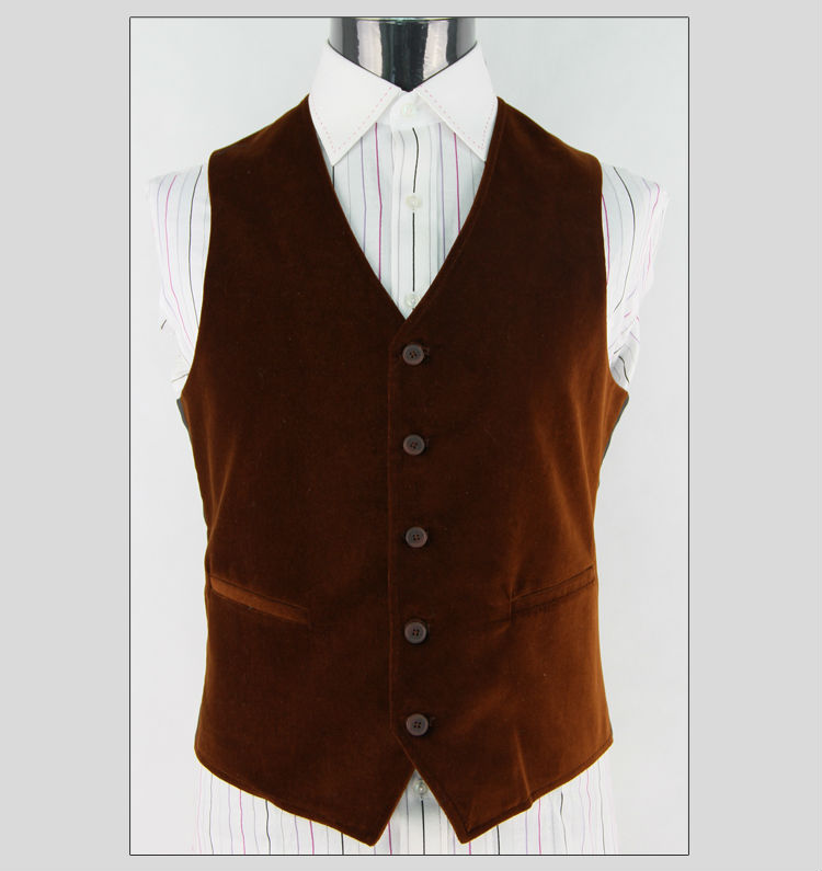 Good Quality Customized Suit Male Waistcoat