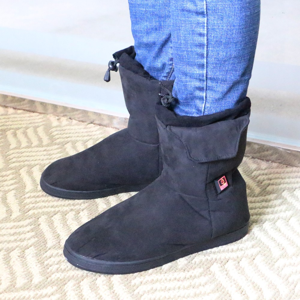 Black Boots Electric Electric Heated Men Men Heated Black Boots 1fxARnpw