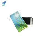 80% polyester and 20% polyamide microfiber pouch for phone bag
