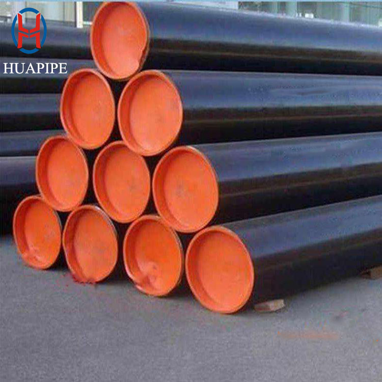 API 5l Epoxy coal bitumen carbon steel Seamless anti-corrosion steel pipe for fluid transport service