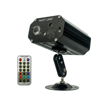 3W mini remote control laser projector stage light