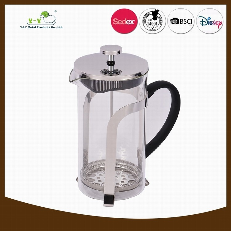Portable Glass Coffee Maker : 2017 Portable Borosilicate Glass Nespresso French Press Coffee Maker - Buy French Press,French ...