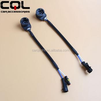 Car Headlight Hid Bulb Lamp Wiring Harness Adapter For D2c/d2r/d2s/d4c/d4r/d4s,Amp on