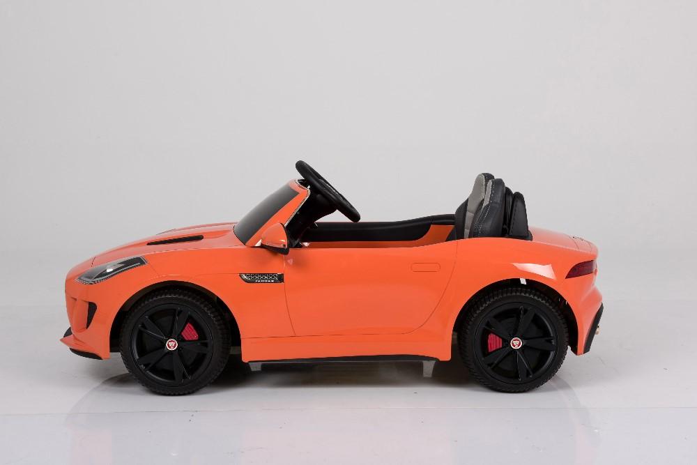 12v Battery Two Motor Licensed Jaguar Toy Car For Kids To Drive ...