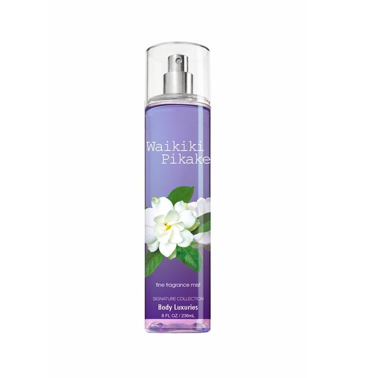 Body Luxuries secret fragrance mist body spray wholesale