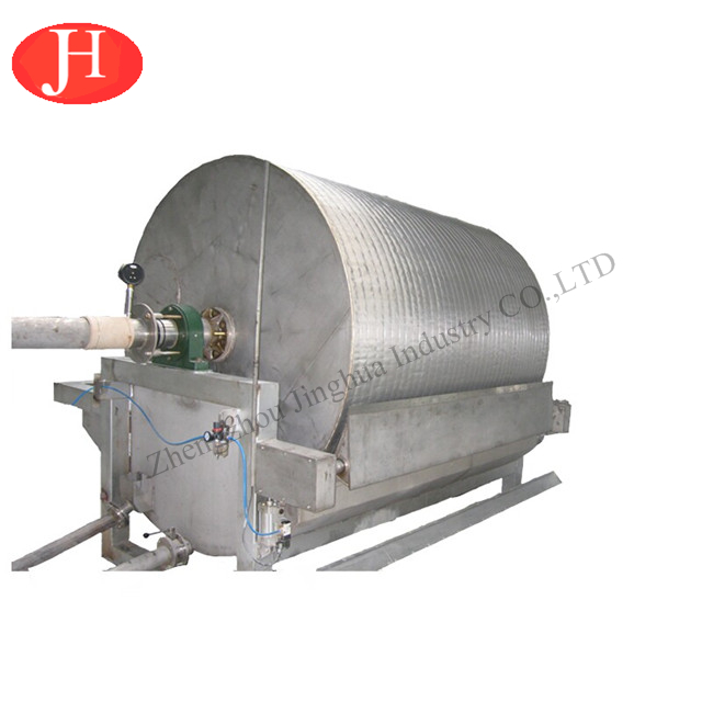 Cassava Starch Flour Garri Processing Machine Starch Dewatering Vacuum Filter