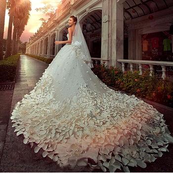 New Mermaid Wedding Dress Bridal Gown Long White Ivory Custom