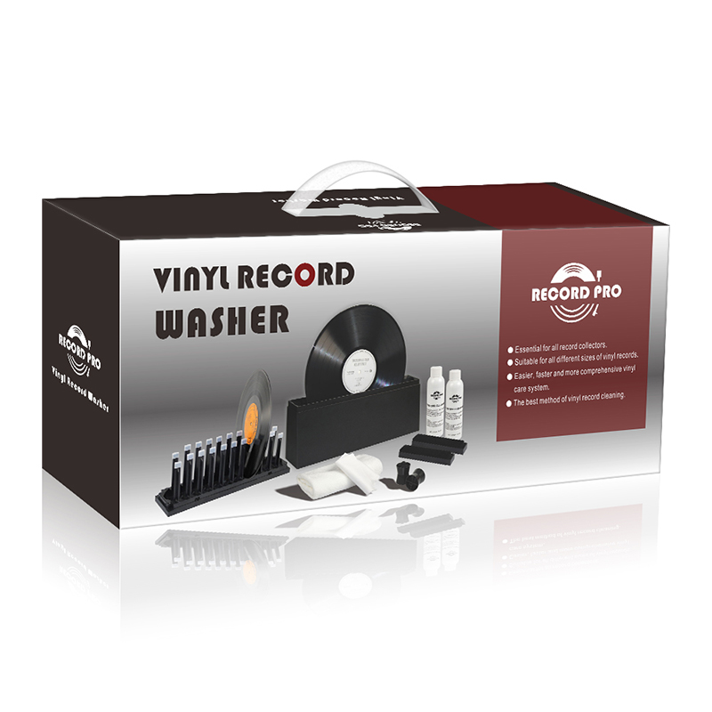 Vinyl Record Brush Cleaner + Dello Stilo pennello, Progettato con La Tecnologia Anti-Statica