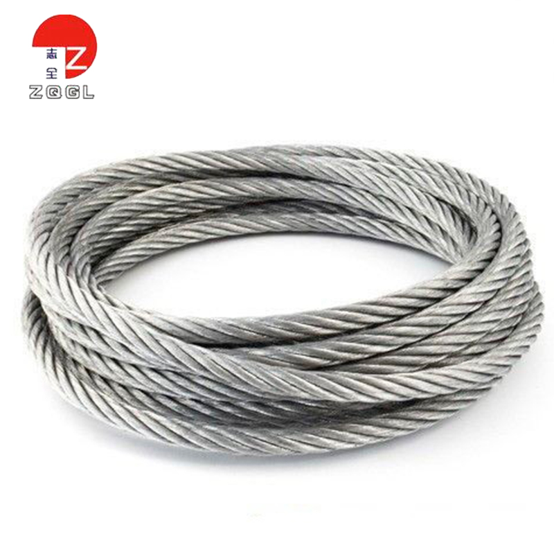 6x24 Galvanized Steel Wire Rope For Lifting, 6x24 Galvanized Steel ...