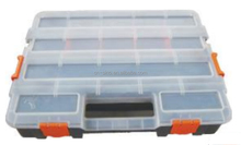 Assorted Plastice Carrying Case With Various Compartments