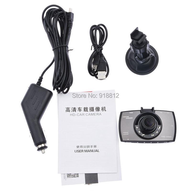 2014 Newest 2.7 1080 P полный камера видеорегистраторы нтк + G доставка-датчик + H.264 MOV 2hdmi + 6 шт. ик автомобильные видеорегистраторы g-сенсор