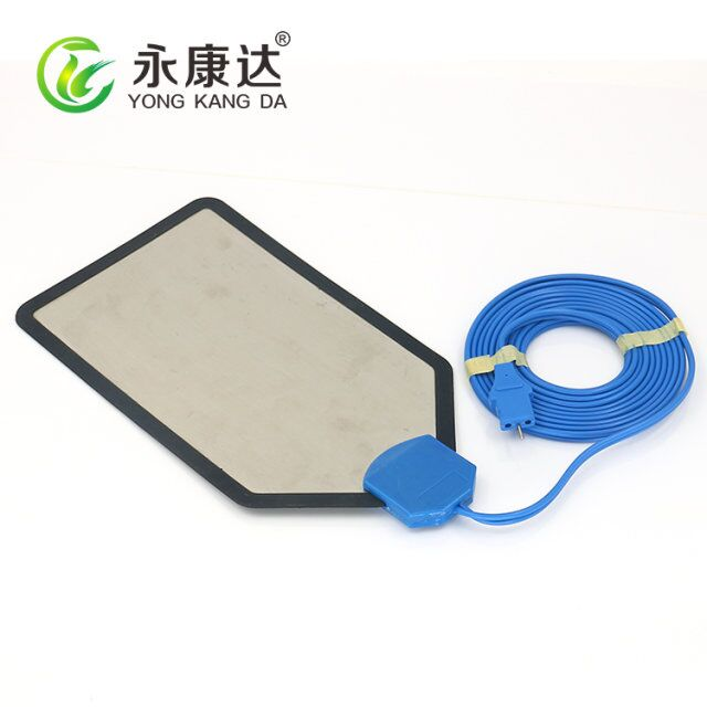 Reusable negative electrode plate two holes connector LEEP durable negative plate