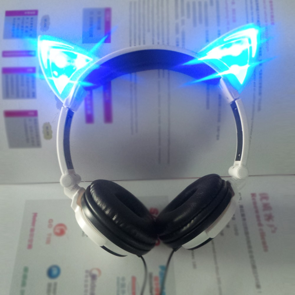High Quality New Invention Led Stereo Wired Cat Ear Headphones ...