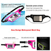 IPX 8 Lycra Waist belt bag waterproof for Swimming Snorkeling