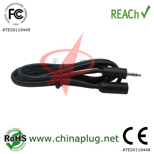 Dongguan 3.5mm stereo audio extension cable