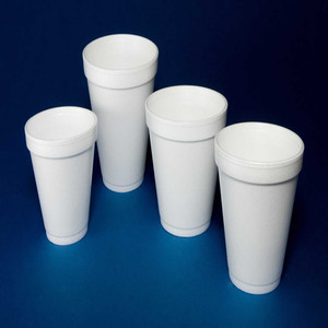 8 Oz White Disposable Coffee eps Foam Cups Hot and Cold Drink disposable cup