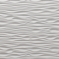 Ocean Wave Style Decorative 3d Wall Panels Mdf Board 18mm