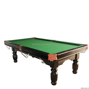 Manufacture marble solid wood 12ft snooker table international standard size pool table buy - Standard size of pool table ...