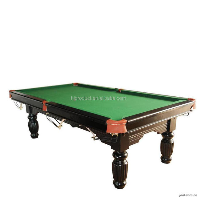 Manufacture Marble Solid Wood 12ft Snooker Table, International Standard  Size Pool Table