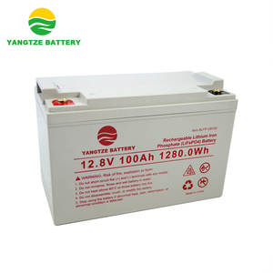 5000 cycles life 12v 100ah deep cycle rechargeable lithium ion battery