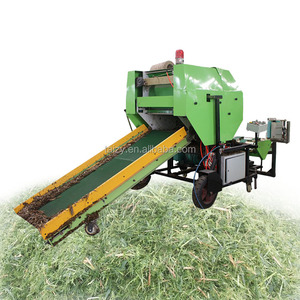 Durable quality corn silage bale making hay and straw baler machine