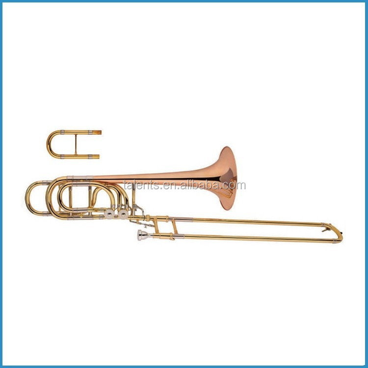 Bb/F/Fb/G/D Bass trombone with rose brass bell