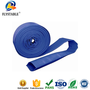 4 bar pvc lay flat hose for pool discharge
