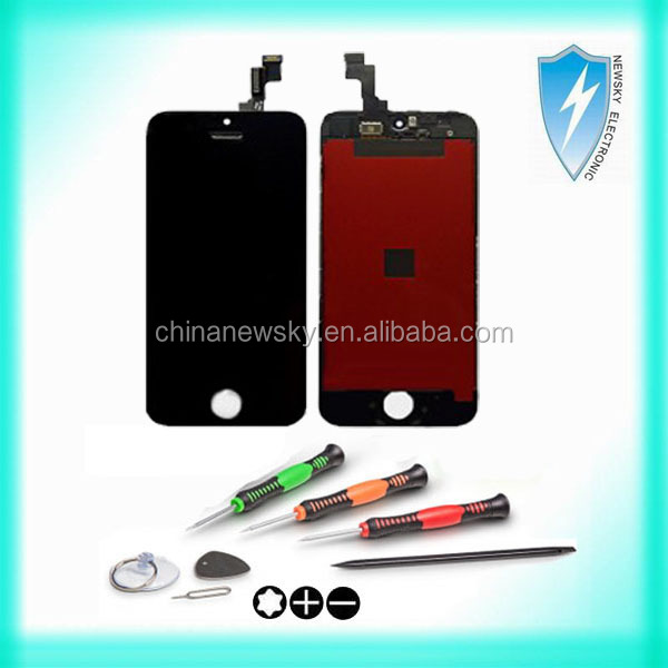 Original Brand new For iPhone 5S Screen Replacement with Digitizer Assembly, Top quality For iPhone 5s LCD Screen